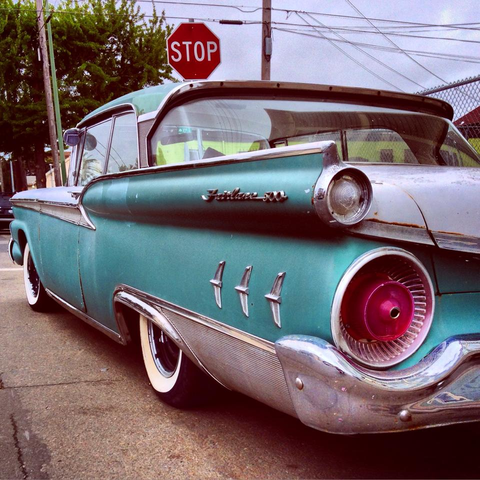Found In) Lower Bottoms (West Oakland) – 1959 Ford Fairlane