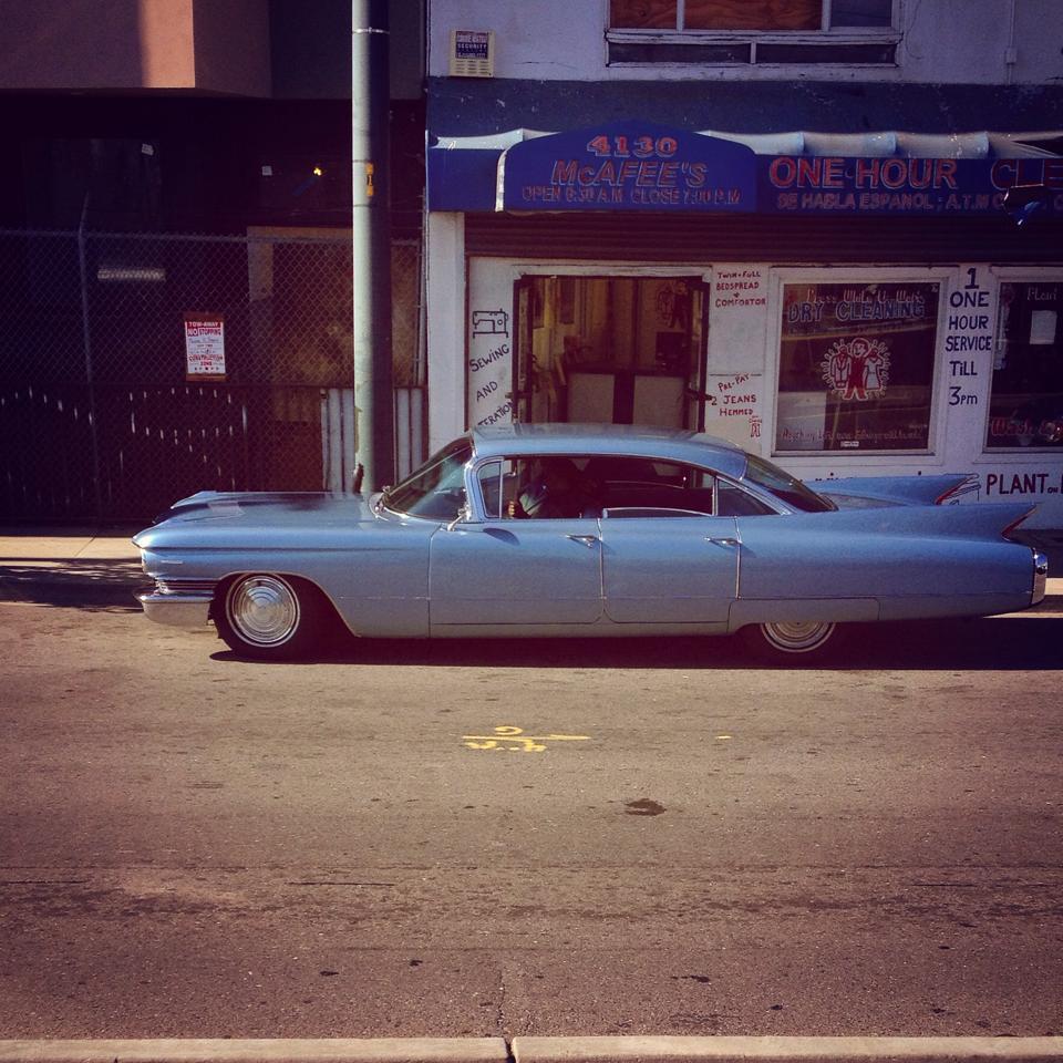 Jones Cadillac: (Found In) Bayview-Hunters Point (San Francisco, California): 1960 Cadillac Series 62 Six Window
