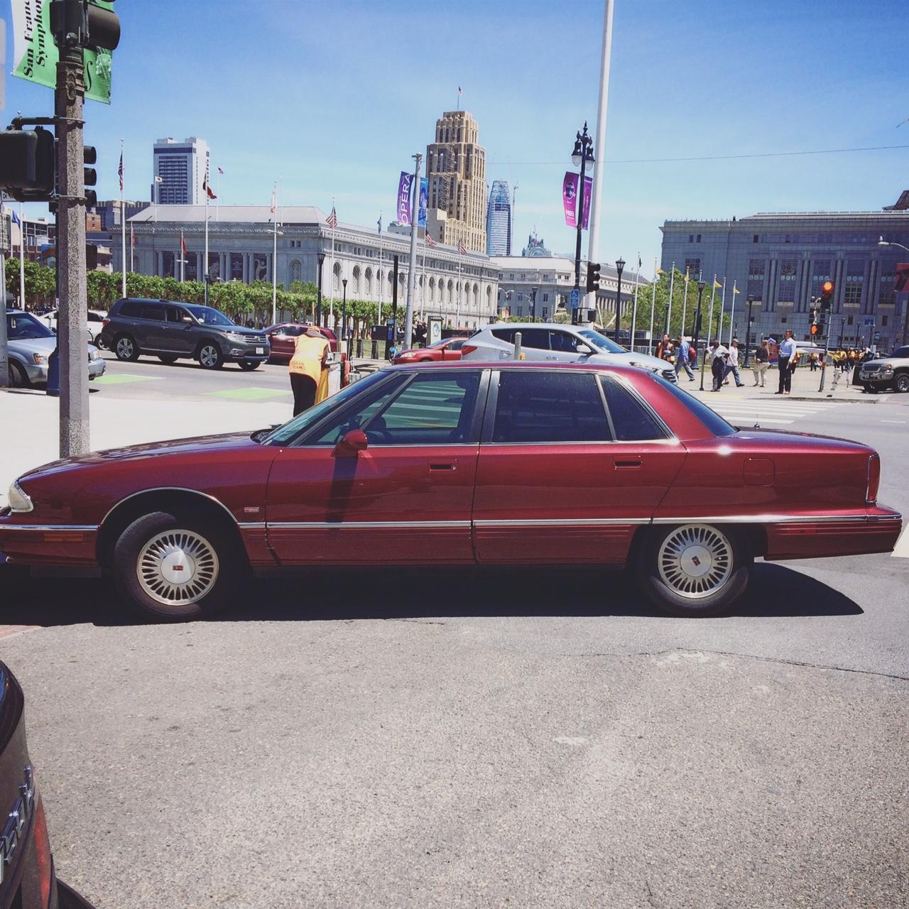Found In Civic Center San Francisco California 1996 Oldsmobile 1941 Ninety Eight Regency Elite Sedan Dynamic Drive