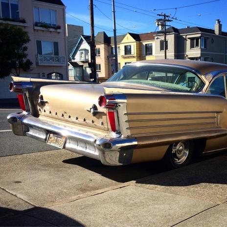 Found In) Lone Mountain (San Francisco, California): 1958 Oldsmobile